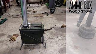 Ammo Box Wood Stove