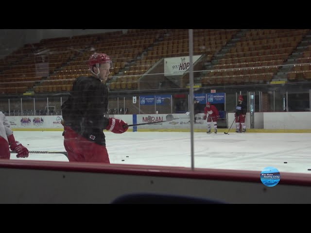 Around The Boards: A little fun behind the scenes at practice with the Prowlers