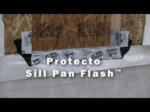 Sill Pan Flash Installation