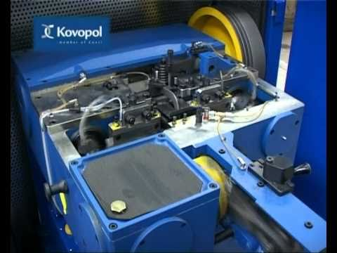 Automatic wire nail making machines - series THA - YouTube