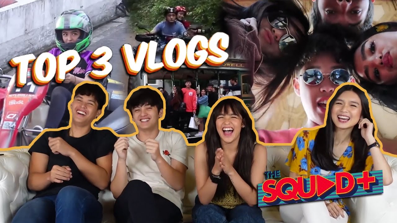 RANKING OUR VLOGS with KyCine & SethDrea | The Squad+