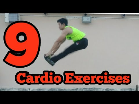 9 Fat Burning Cardio Exercises | You Can Do At Home | Brandon Lee