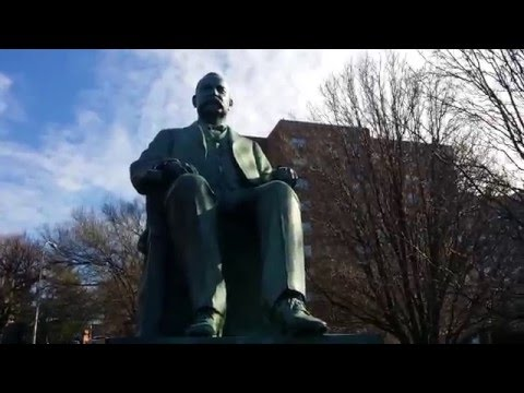 James Pendergast Memorial Statue