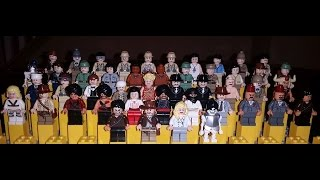 Lego Indiana Jones Complete Minifigure Collection