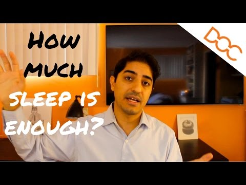 How Much To Sleep In College and Medical School