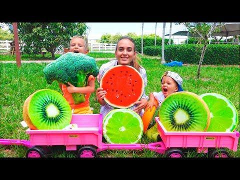 Vlad And Nikita Hide And Seek Fruit On The Farm