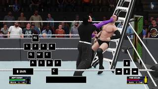 Money in the Bank PC Controls - WWE 2K18