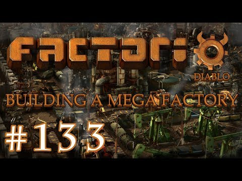 Factorio - Building a Mega Factory: Part 133 Setting trains in motion
