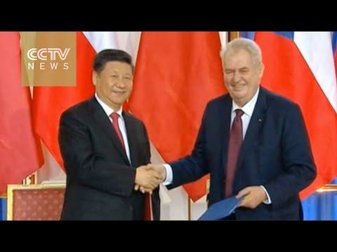 China, Czech Republic sign various business deals