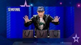 El mago Leo Ramírez roba a Edurne su móvil en directo | Semifinal 4 | Got Talent España 2018 thumbnail