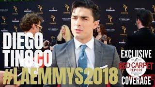 Diego Tinoco #OnMyBlock #Netflix @ 70th Los Angeles Area Emmy® Awards Red Carpet #LAEmmys