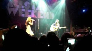Stereo Hearts - Megan & Liz Live in Hollywood!