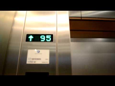 Поездка в лифте Останкинской башни