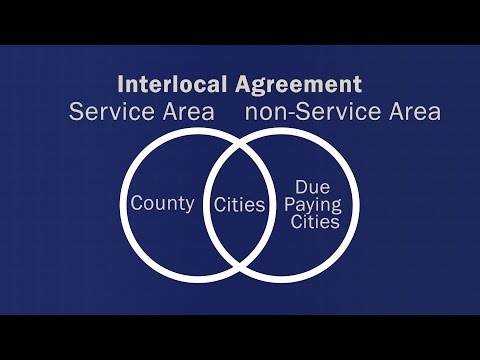 Agreements Between Counties and Cities for Services