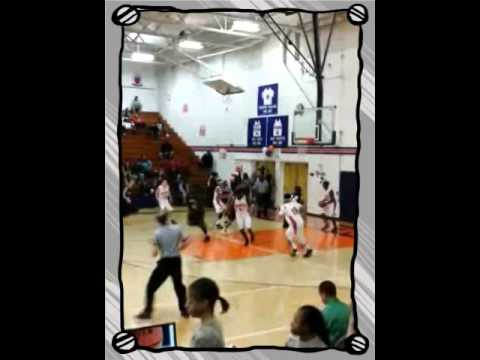 Malik putting in work against Rainier Beach JV  (Created wi Travel Video