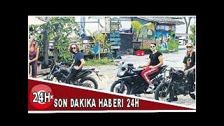 Bennu Gerede'nin oğlu motosikletin altında kalmış!