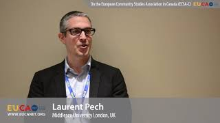 Dr. Laurent Pech on the European Community Studies Association Canada (ECSA-C)