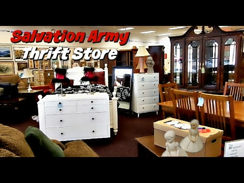 Salvation Army Thrift Store  Great Quality Furniture And