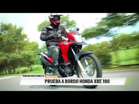 PRUEBA HONDA XRE 190