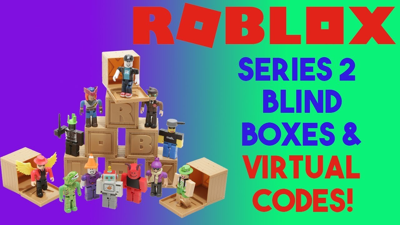 Roblox Series 2 Blind Boxes || Virtual Code Giveaways || 1x1x1x1,  Maelstronomer and more!
