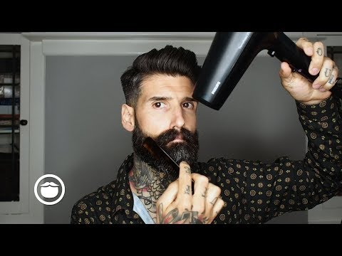 How I Style my Beard at Home | Carlos Costa