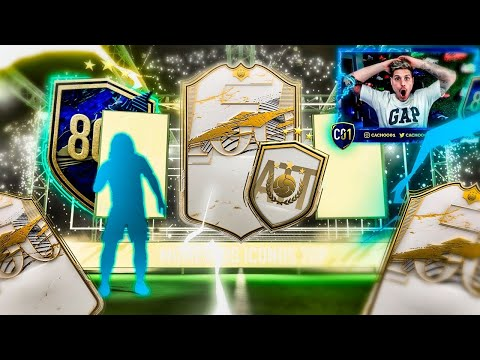 ABRO MI SOBRE DE ICONO DELANTERO Y 50 PLAYER PICKS!!! | FIFA 21