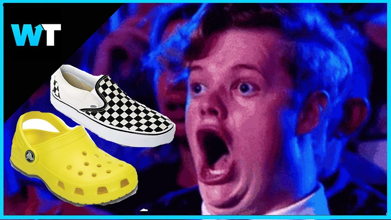 69ff486b9 What is the Crocs vs VANS Challenge?? - YouTube