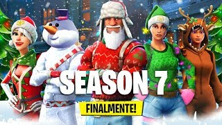 FINALLY THE SEASON 7! New PASS BATTLE 7 and CREATIVE MODE! 🔴 Live Fortnite ITA Season 7