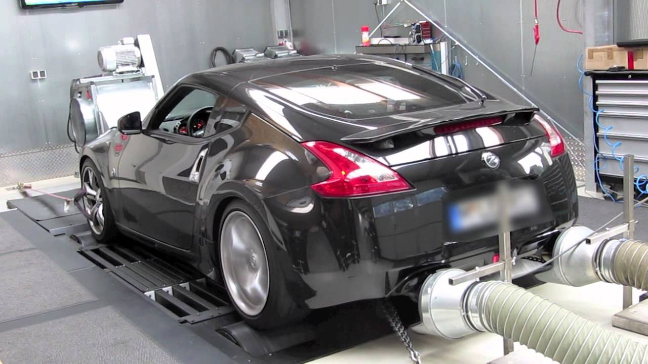 nissan 370z tuning on dynojet youtube. Black Bedroom Furniture Sets. Home Design Ideas