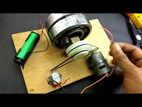 Comment faire générateur d'énergie libre sans batterie