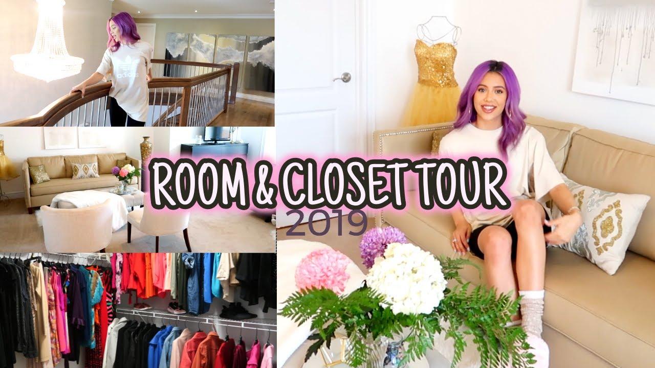 Download ROOM & CLOSET TOUR 2019   (aesthetic simple glam)   MIANA LAUREN