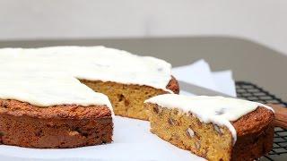 Carrot Cake (cake à la carotte) : la recette sans beurre allégée en sucre