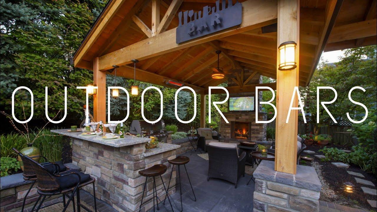 Outdoor Bars - YouTube on Backyard Bar id=71743