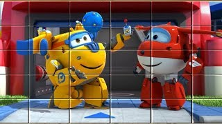 Super Wings Game - Video for Kids - Puzzle Blocks