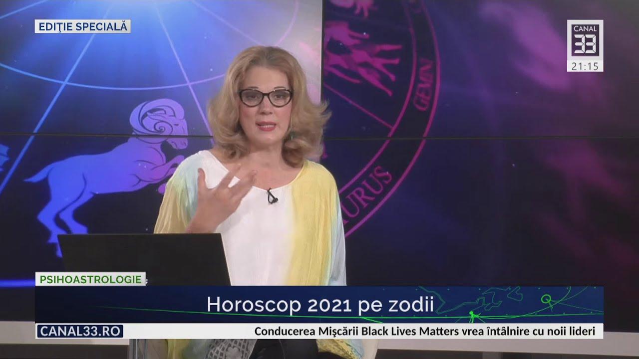 Horoscop 2021 pe zodii - prima parte, cu Camelia Pătrăşcanu