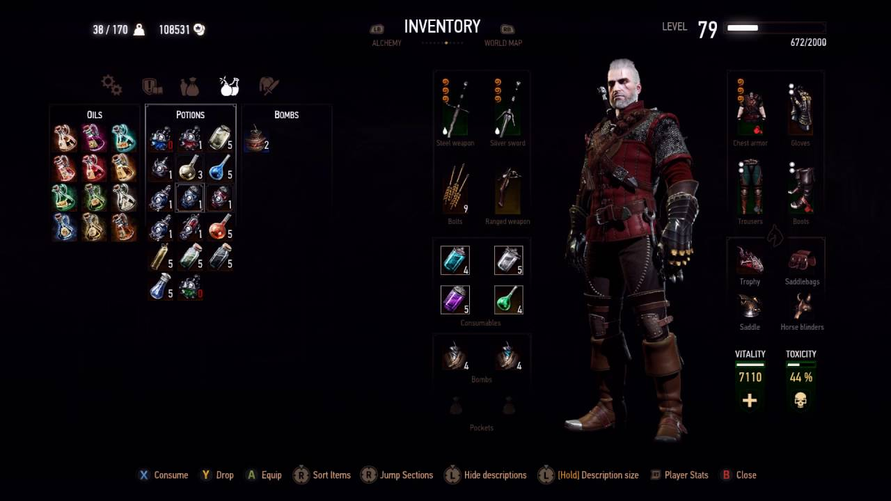 Witcher  Best Build For Death March
