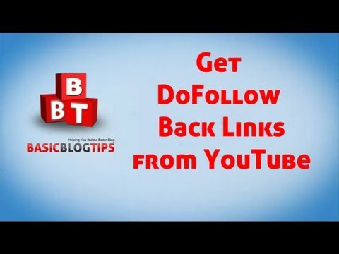 Get DOFOLLOW BACKLINKS From YouTube - Auto Generated