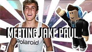 I MEET JAKE PAUL - France (WATCH TILL THE END) tiabkcilc REAL STORY (fr) Roblox