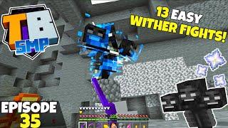 Truly Bedrock S2 Ep35! The Secret To EASY Wither Fights! Bedrock Edition Survival Let's Play!
