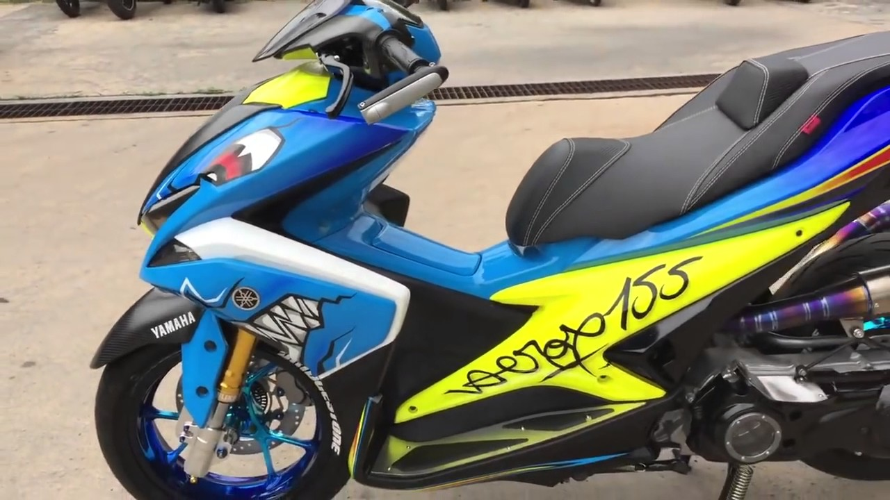 Download Koleksi 73 Modifikasi Yamaha Aerox Keren Terbaru