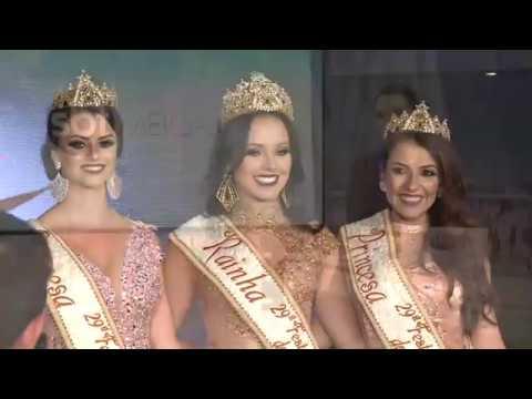 Rainha e princesas da 29ª Festa Nacional do Pinhão são escolhidas em Lages