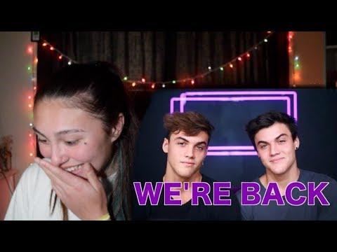 "REACTING TO THE DOLAN TWINS NEW VIDEO! ""WE'RE BACK"""