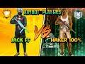 Freefire : OP JACK ⚔️  Hacker Aimbot 999% | 1 Vs 1  | Clash Squad 🦇🔥