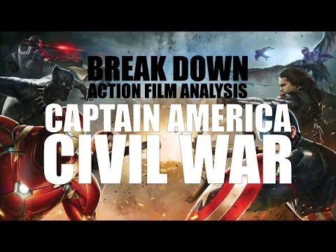 Captain America: Civil War - Break Down: Action Film Analysis