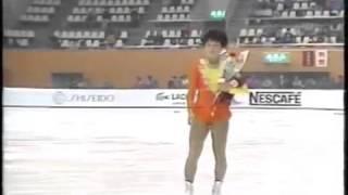 世界ジュニアフィギュアスケート1984 伊藤みどり Midori Ito wmv