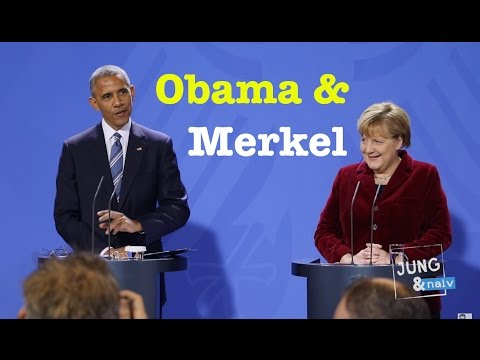 US-Präsident Barack Obama & Kanzlerin Angela Merkel - Komplette PK vom 17. November 2016