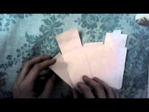 Как сделать новогодний торт из бумаги