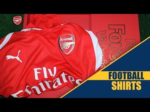 Arsenal 2014-15 Puma Home Kit Review - Football-Shirts.co.uk