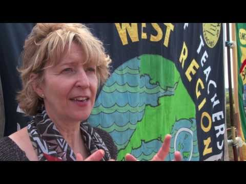 Melissa Benn NUT debate, Tolpuddle 2013