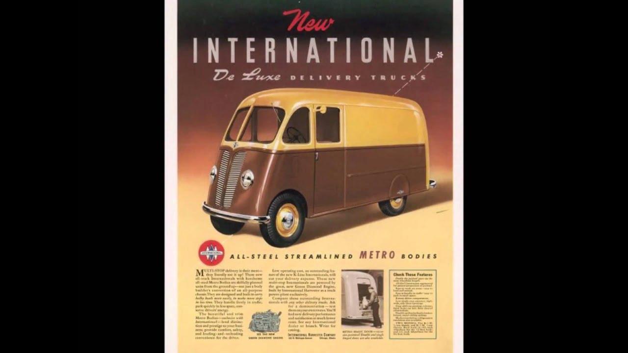 International Harvester Logo >> International Metro Vans - YouTube